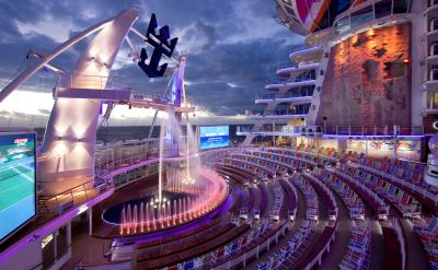 Royal Caribbean Allure of the Seas aqua theater