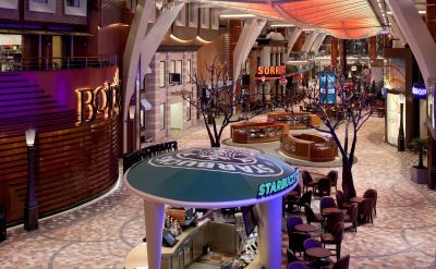 Royal Caribbean Allure of the Seas promenade
